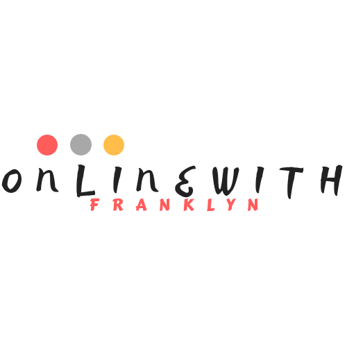 WELCOME TO FRANKLYN's BLOG